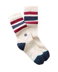 Stance Blue Boyd 3 Socks for men