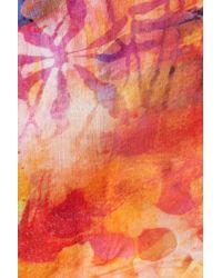 Bindya Multicolor Watercolor Oblong Scarf