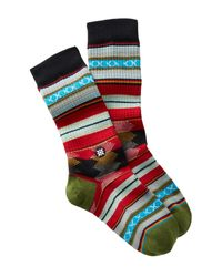 Stance Black Guadalupe Socks for men