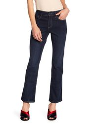 NYDJ Blue Barbara Modern Boot Cut Jeans (petite)