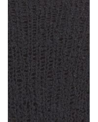 A.L.C. - Black Andreas Fringe Silk Blend Sweater - Lyst