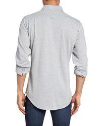 Gant Gray Slim Fit Tech Prep Sport Shirt for men