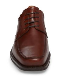 Ecco Brown Seattle Moc Toe Derby for men