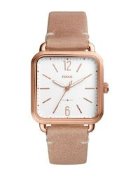 Fossil | Multicolor Women's Micah Leather Strap Watch | Lyst