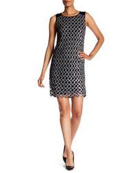 Diane von Furstenberg - Black Joylyn Embellished Cocktail Dress - Lyst