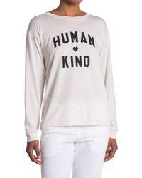 Sub_Urban Riot Multicolor Human Kind Boyfriend T-shirt