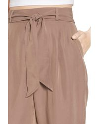 Leith Brown Tie Waist Pants