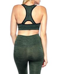 653908d995a11 Lyst - Electric Yoga Holding Up Sports Bra (maternity) in Black