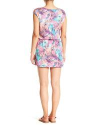 Tori Richard Blue Sherbert Oasis Dress