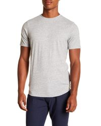 Good Man Brand Gray Short Sleeve Crew Neck Tee for men