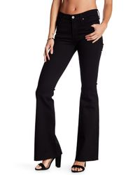 James Jeans Black Bella Flare Jeans