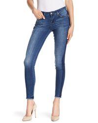William Rast - Blue Perfect Skinny Frayed Hem Jeans - Lyst