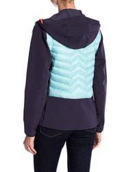 Helly Hansen - Blue Verglas Quilted Hooded Jacket - Lyst