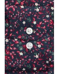 Bonobos - Blue Mali Slim Fit Stretch Floral Dress Shirt for Men - Lyst