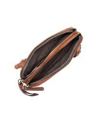 Liebeskind Berlin Black Janina Sporty Leather Crossbody Bag