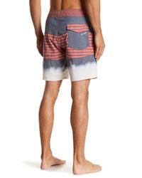 Volcom Blue Threezy Board Short for men