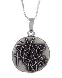 ALEX AND ANI | Metallic Vine Charm Necklace | Lyst