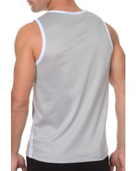 2xist - Gray 2(x)ist Athleisure Men's Mesh Muscle Tank for Men - Lyst
