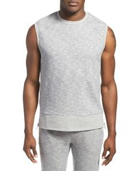 2xist Multicolor Side Zip Sleeveless Sweater for men