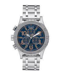 Nixon | Metallic Women's 38-20 Chrono Watch | Lyst