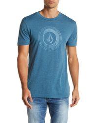 Volcom - Blue Sprinkler Stone Short Sleeve Tee for Men - Lyst