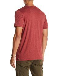 Volcom - Red Fall Stone Short Sleeve Tee for Men - Lyst