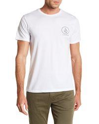 Volcom | White Forever Stone Short Sleeve Tee for Men | Lyst