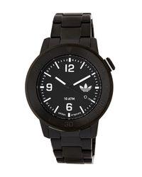 Adidas Originals - Black Men's Manchester Bracelet Watch for Men - Lyst