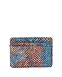 Aimee Kestenberg | Blue Leather Credit Card Wallet | Lyst