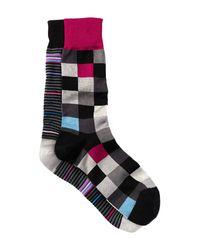 Bugatchi | Multicolor Printed Socks - Pack Of 2 for Men | Lyst