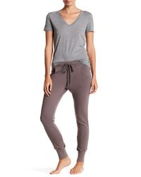 Barefoot Dreams | Gray Lounge French Terry Pant | Lyst