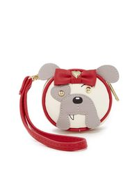 Betsey Johnson | Gray Animal Faux Leather Contact Lens Case | Lyst