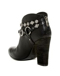 Belle By Sigerson Morrison Black Leather Ankle Boots