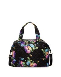 Steve Madden | Black Quilt 2s Quilted Nylon Weekend Bag | Lyst