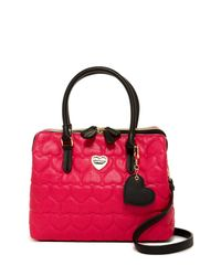 Betsey Johnson | Multicolor Be Mine Quilted Shoulder Bag | Lyst