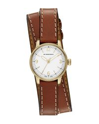 Burberry | Multicolor Women's Double Wrap Band Watch | Lyst