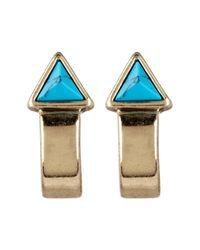 House of Harlow 1960 - Multicolor Telluride Hoop & Stud Earrings Set - Lyst