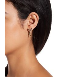 House of Harlow 1960 | Metallic Astrea Crystal Ear Jacket Earrings | Lyst