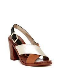 Sam Edelman - Multicolor Ivy Open Toe Sandal - Lyst