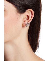 Vince Camuto | Multicolor Pave Claw Earrings | Lyst