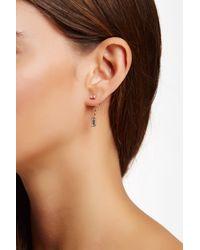 Vince Camuto | Multicolor Crystal Baguette Ear Jacket Stud Earrings | Lyst