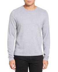 Calibrate | Gray Crewneck Pullover for Men | Lyst