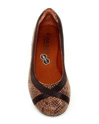 Cobb Hill | Brown Revchi Flat | Lyst