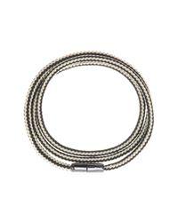 Cole Haan - Metallic Paracord Wrap Bracelet - Lyst