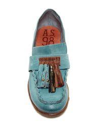A.s.98 Blue Clyde Tassel Loafer
