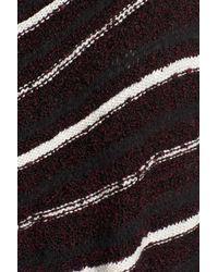 Caslon - Black Stripe Boucle Cardigan - Lyst