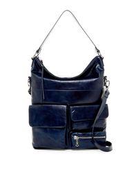 Hobo   Multicolor Explorer Leather Shoulder Bag   Lyst