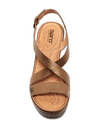 Born Brown Tomar Sandal