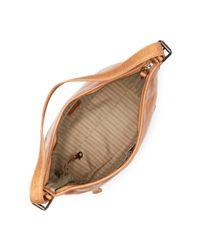 Frye Brown Melissa Leather Bucket Bag