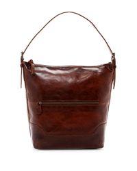 Frye | Brown Melissa Leather Bucket Bag | Lyst